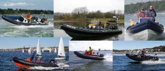 XS Ribs Commerciaal Leisure Rescue Rib Boat Packages