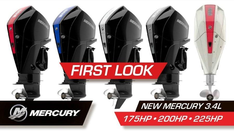 Mercury Mariner New V 6 L XL 175, 200, 225 Outboard Motor