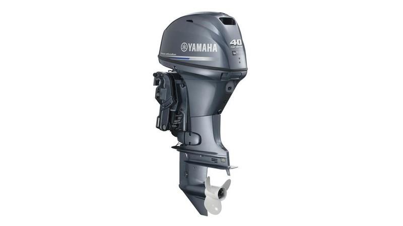F 40 Hp Outboard Motor Engine Yamaha Image