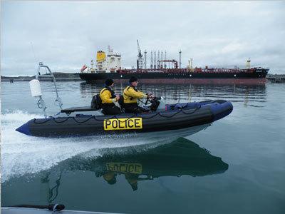 Zodiac ~ Avon Military Commercial Searider Rib Inflatable